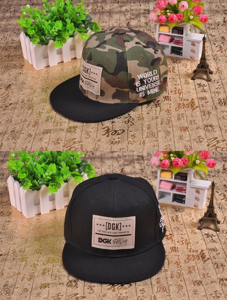 Brand snapback caps baseball cap dgk hat gorras planas Flat Hip Hop gorra for men women casquette hats chapeu touca sport homme