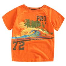 hot New summer Kids clothes cotton short sleeved font b boys b font active print t