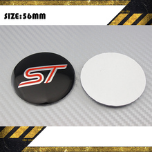 Buy 4Pcs FORD FOCUS 2 focus 3 Mondeo New 56mm Wheel Center Hub sticker Caps Cars Wheel Center Hub Cover ST car styling for $3.42 in AliExpress store