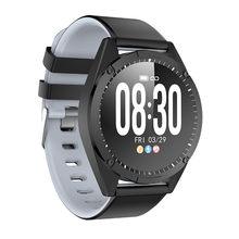 2019 LIGE lüks marka akıllı saat erkekler kadınlar kalp hızı kan basıncı sağlık monitör spor spor Android IOS için smartwatch(China)