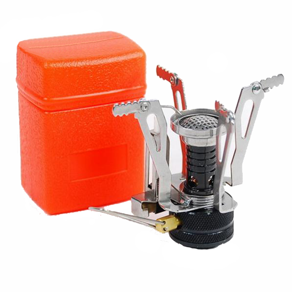 Outdoor Picnic BBQ Burner Stove Camping Gas Stoves Portable Folding Mini Burner Electronic Ignition with Box(China (Mainland))