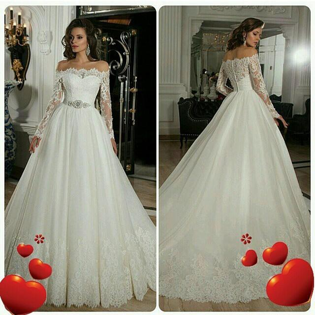 Long Sleeve Cinderella Wedding Dresses Bridesmaid Dresses