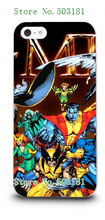 X-Men 2 New Arrivals Fashion Style Hybrid Retail White Mobile Phone Hard Cover Cases For IPHONE 5 5s Free Shipping