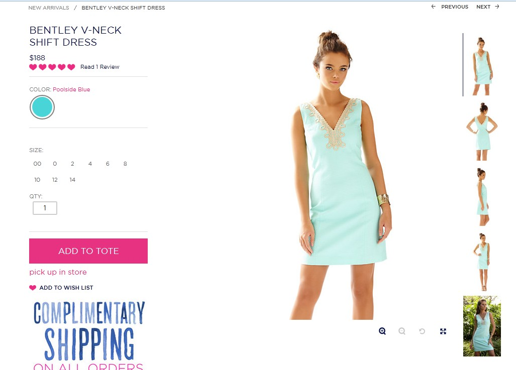 Lilly Pulitzer and the new V collar net color classic dress<br><br>Aliexpress