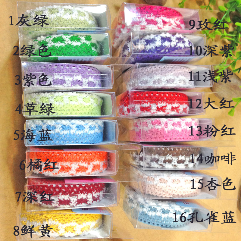 1 piece Free shipping wholesale Satin Face Decorative Multifunction Diy office adhesive cotton lace tape DIY Tape fabric tape(China (Mainland))