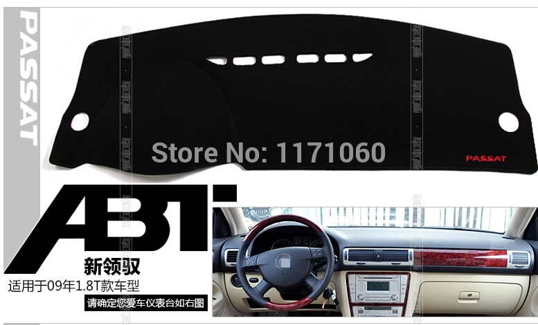 Suitable, Passat 2009 1.8T, dashboard, isolation heat pad, avoid emitting light, polyester, free shipping(China (Mainland))