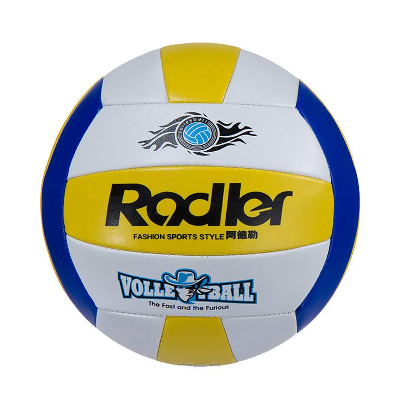Rodler Brand Sports Training Size 5 Volleyball Ball Free With Net Bag+Needle Free Shipping(China (Mainland))