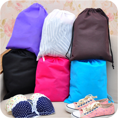 10 pieces Thick Non-Woven Travel Shoe Storage Bag Cloth Suit Organizer Bra Case Garment Galocha Packing Cubes Covers(China (Mainland))