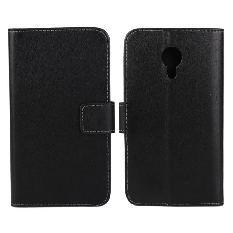 30 pcs/lot Card Slot Flip 100 Grain PU Leather Stand Wallet Case Cover Meizu Mx4