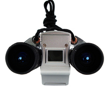Free Shipping 3Mp max Mini Digital Binocular Camera + PC webcam Camera + Digital Video 4in1(China (Mainland))