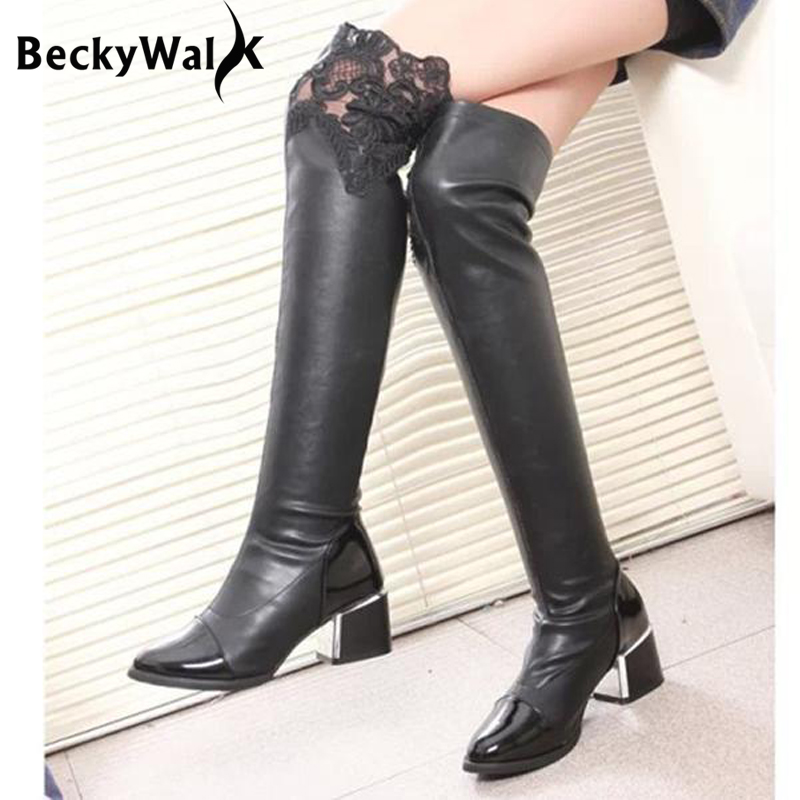 Thigh High Boots 2016 Promotion-Shop for Promotional Thigh High ...