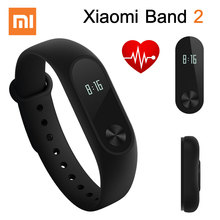 Original Xiaomi Mi Band 2 Smart Bracelet Wristband Miband 2 Fitness Tracker Android Bracelet Smartband Heart rate Monitor(China (Mainland))