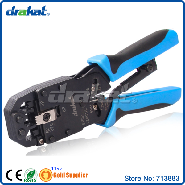 buy multifunctional 8p 6p 4p rj45 rj11 cable crimping tool ratchet type from. Black Bedroom Furniture Sets. Home Design Ideas