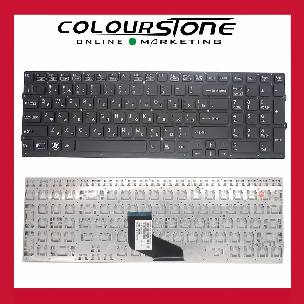 Brand New For SONY VAIO VPC F2 VPC-F2 F21 F22 F23 Series Russian Layout Laptop Keyboard Part(China (Mainland))