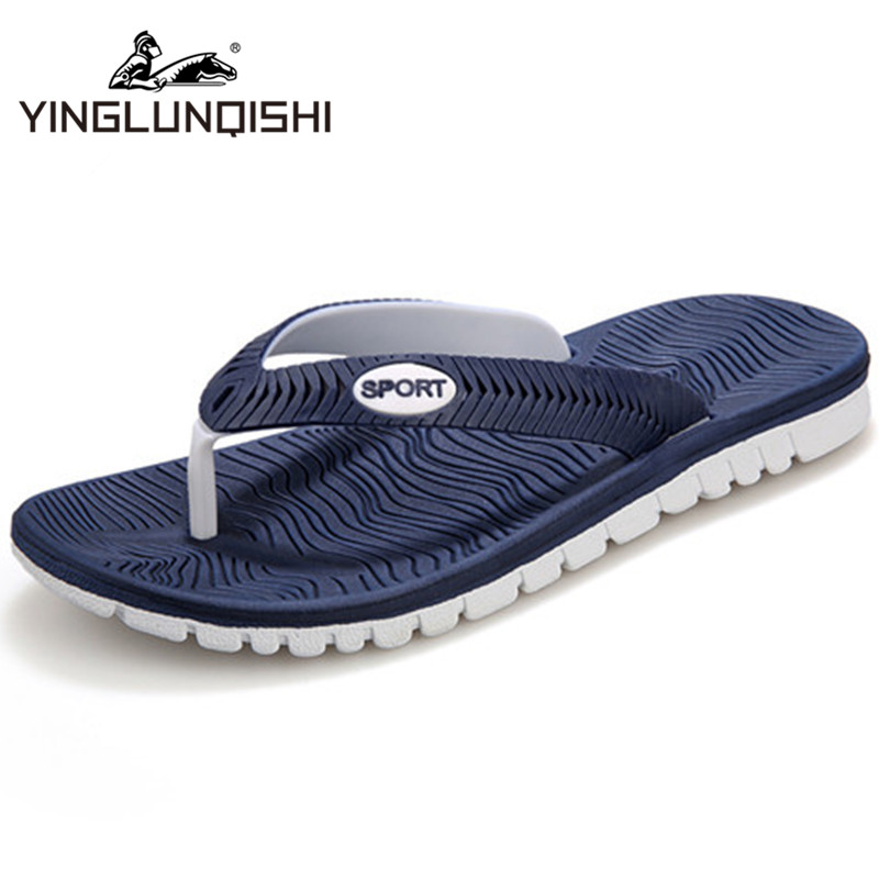 Гаджет  Plus Size Newest 2014 Slippers For Men Rubber Casual Fashion Slipper Summer Flip Flops Black Blue White Green Shipped In 36 H None Обувь