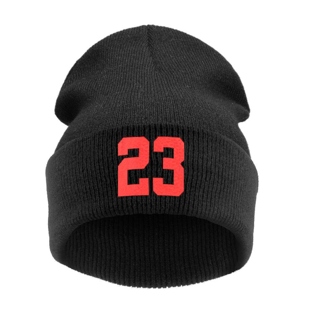 Unisex High Quality Casquette Beanies 23 Women Cap Men Winter Hats for Women Knitted Hat Cap