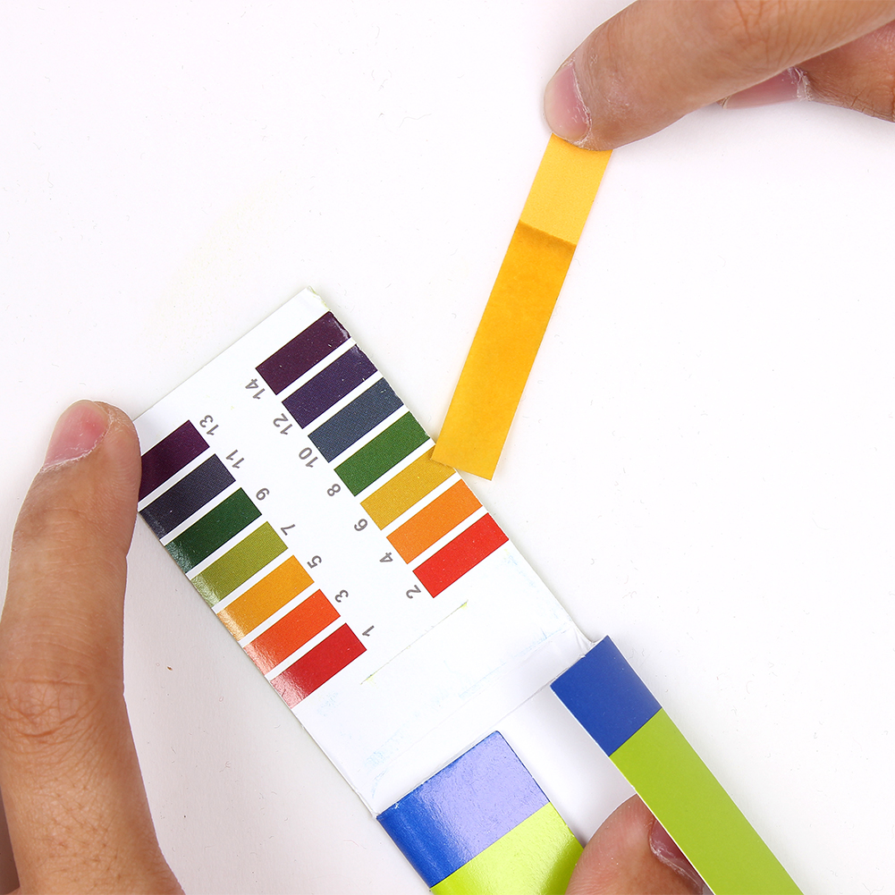 litmus paper Blue litmus test paper is a ph test to determine if something is acidic it does not have a color chart and cannot provide users with a defined ph value.