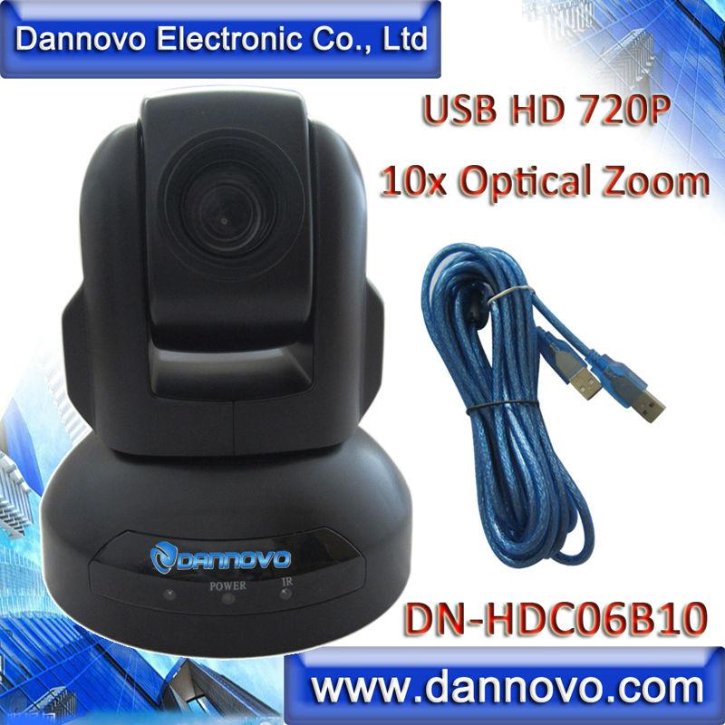 DANNOVO HD USB Web Conferencing Camera,10x Optical Zoom HD 720P WebCam,Support Skype, Microsoft Lync,Plug & Play(China (Mainland))