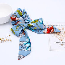 2019 nuevas cintas para el cabello con lazo, bandas para el cabello para niña, lazos para el cabello con cola de caballo, accesorios para el cabello(China)