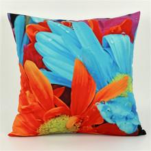 Flower 3D Print Throw Pillowcase Cushion Cover