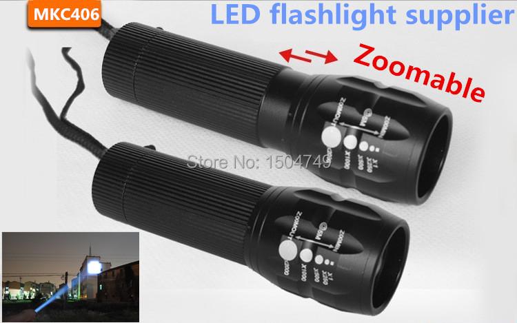 Promotion 90% off: CREE Q5 Mini LED Flashlight 3 Modes Zoomable LED Light lanterna strong lumen penlight(China (Mainland))
