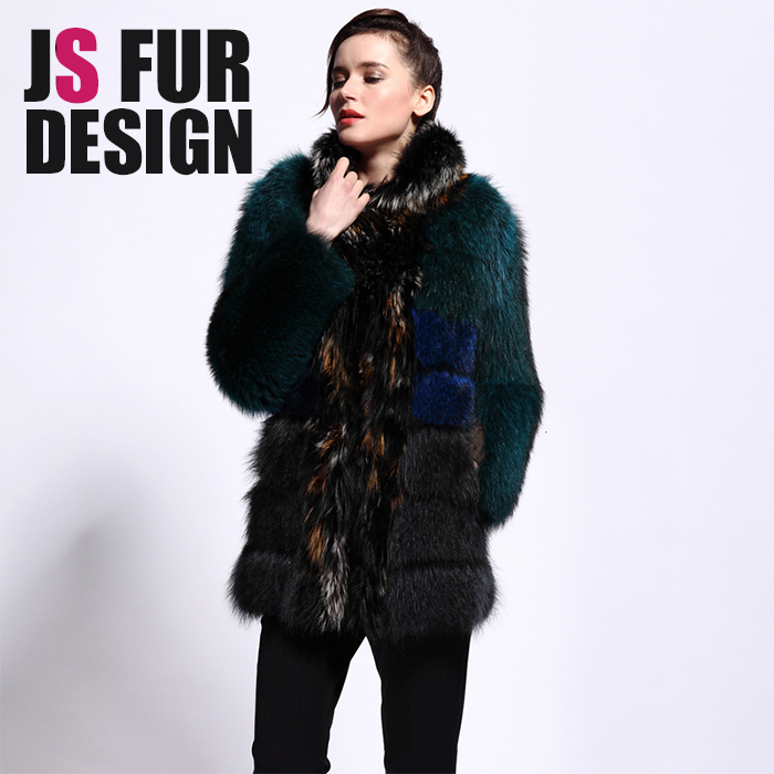 2015 China Factory Winter New Fashion Real Fur High Quality Expensive Soft Fur Genuine Raccoon Dog Fur Winter Coat WomenОдежда и ак�е��уары<br><br><br>Aliexpress
