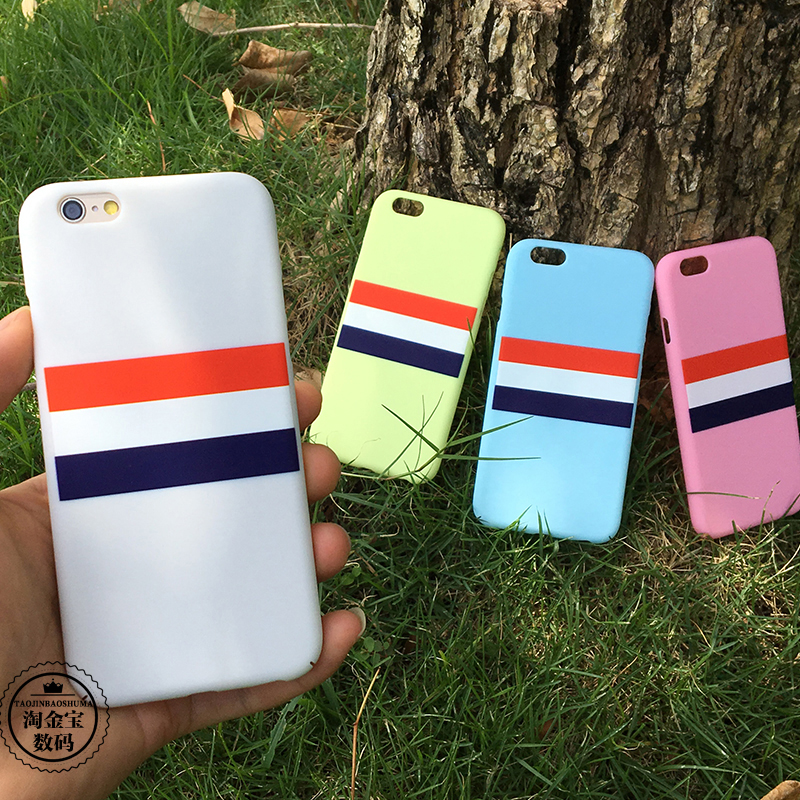 For for apple phone case 6s fresh brief for for iphone 6 6s protective case plus shell all-inclusive hard shell(China (Mainland))