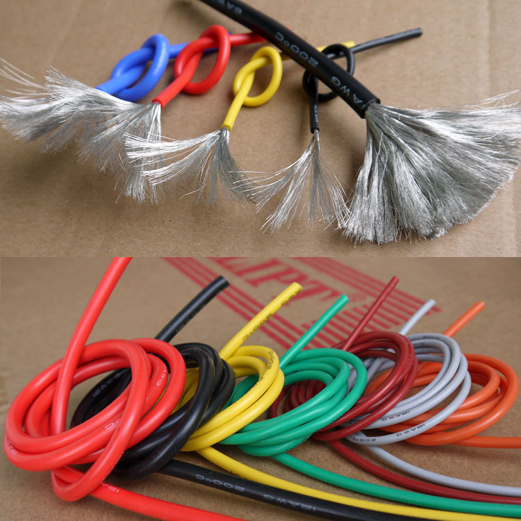 20AWG Flexible Silicone Wire Cable Soft High Temperature Tinned copper Color Selectable(China (Mainland))
