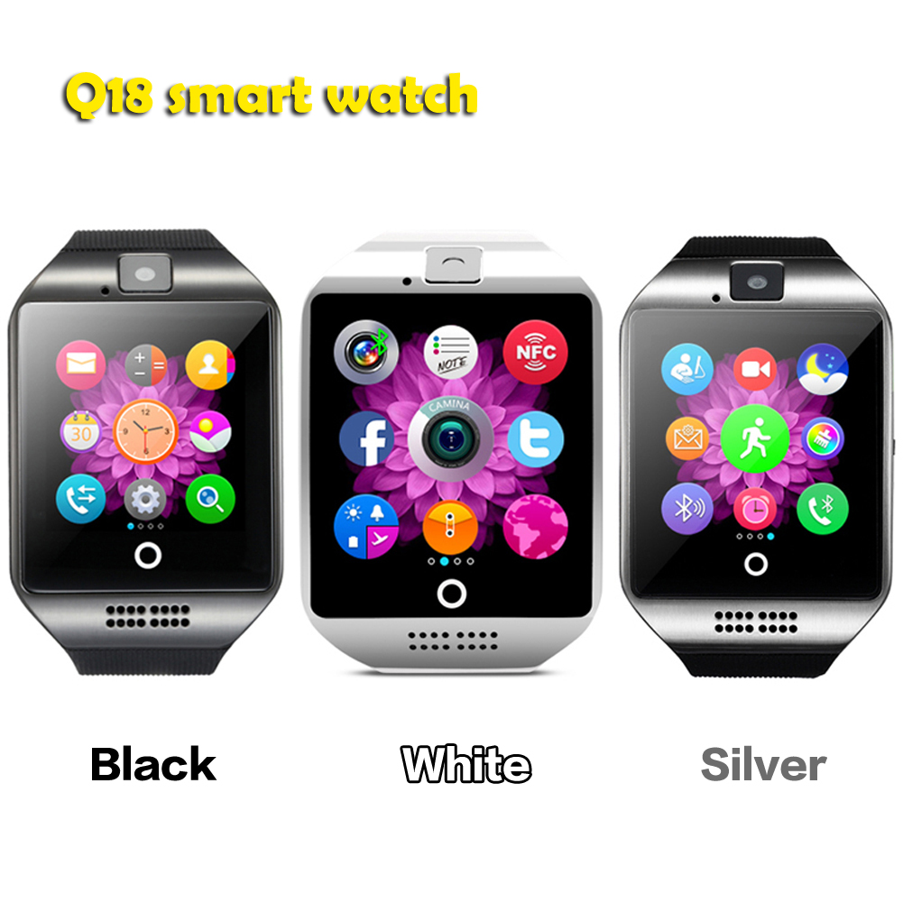 Bluetooth Pro WeChat, Twitter, Facebook smart watch Apro Q18 Support NFC SIM GSM Video camera Pro 4.3 above Android Mobile phone(China (Mainland))