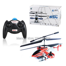 Wholesale MJX toys T654# 4-Channel Toy Infrared RC Helicopter with Gyroscope Light(red). Free Shipping.