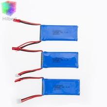 3pcs 7.4V 1200mAh Li-po Battery for WLtoys Quadcopter Drone V666 V262 V353 V333 V323 high quality battery