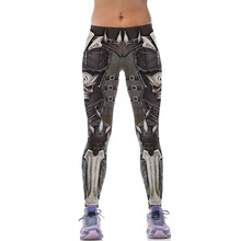 Buy New 543 Sexy Girl leggins WOW Game Skull Alliance horde Printed Polyester Elastic Fitness Workout Women Leggings Pants for $9.20 in AliExpress store