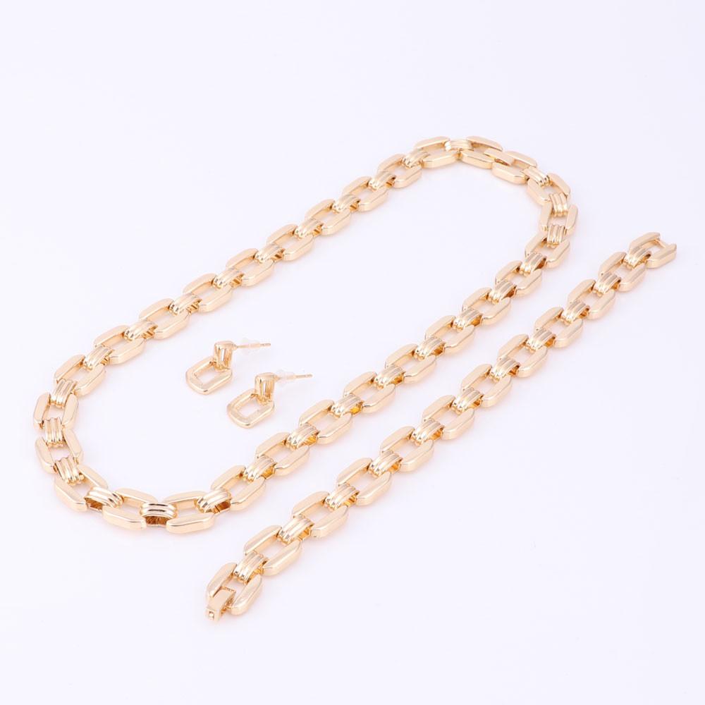 Женская мода позолоченные boho кристалл ювелирные наборы с серьги заявление ожерелье для партии свадьба Модный ожерелье 2016