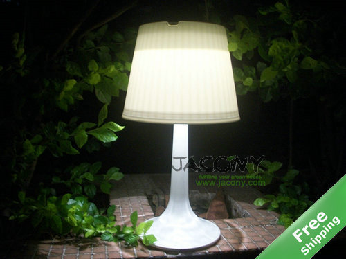 Solar Table Reading Light + Eyes protection LED + 100% solar powered + Free shipping(China (Mainland))