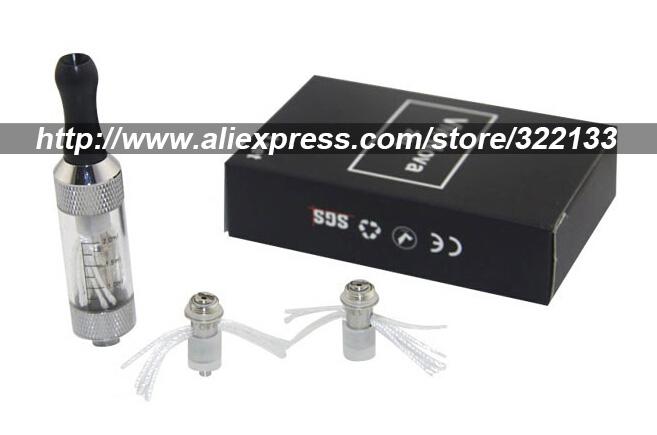 2 kits/lot Electronic Cigarettes 2.5ml mini Vivi Nova Atomizer Clearomizer e cigarette Kit + Coils Head