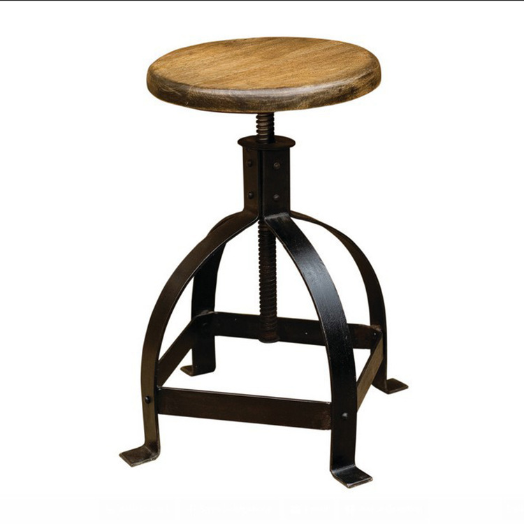 However excellent home American country wood bar stool outdoor leisure tea shop highchair wood bar stool bar chair<br><br>Aliexpress