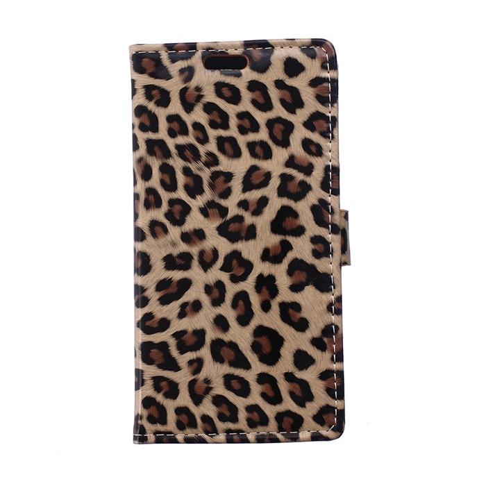 Nueva Caja Del Teléfono Móvil y Bolsos de Piel de Leopardo de Lujo Cartera de Cuero del caso del soporte para microsoft lumia 640 dual sim/640 lte(China (Mainland))