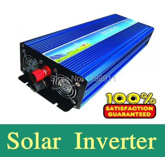 Modified Sine Wave Inverter DC/AC 3000W Off Grid Power Inverter DC12V/24V Solar Inverter,Wind energy Inverter.free shipping(China (Mainland))