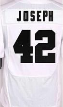 yingyuanFang Men's #52 KHALIL #4 DEREK #89 AMARI #24 CHARLES #42 KARL #11 SEBASTIAN Black and white elite jerseys(China (Mainland))