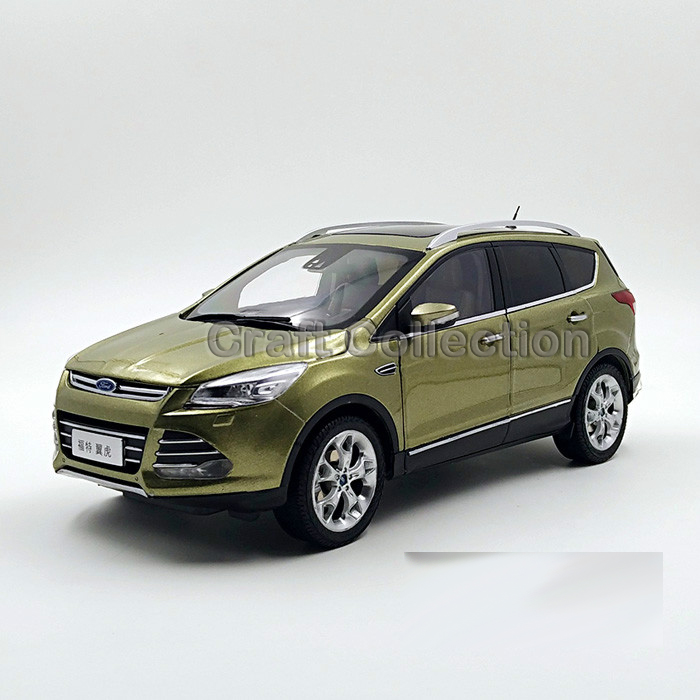 Brown 2013 New 1:18 Ford Kuga Escape Metal Toy Car Off Road Diecast Model Car Urban Vehicle Crossover SUV(China (Mainland))