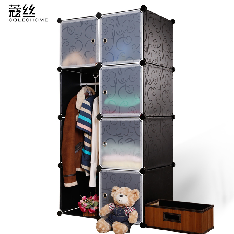 Wire modular simple wardrobe steelframe baby cloth wardrobe simple overall<br><br>Aliexpress