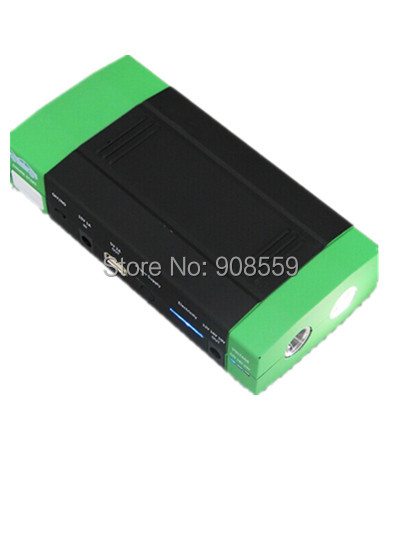 car jumper 12000mAh 12v auto battery 400amp peak car jump and portable power bank(China (Mainland))
