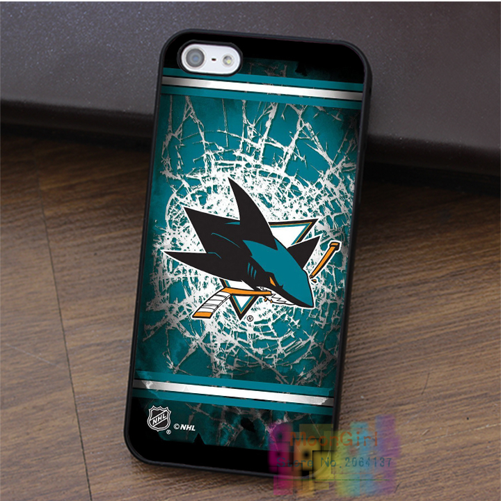 The Newest NHL San Jose Sharks Terms fashion cell phone case for iphone 4 4s 5 5s 5c SE 6 6s & 6 plus & 6s plus #LI3147(China (Mainland))