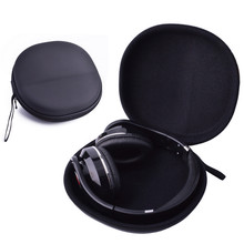 Black EVA Earphone Headphone Case for Audio Technica ATH M50 for Sony Monitor Headphones carry bag pouch
