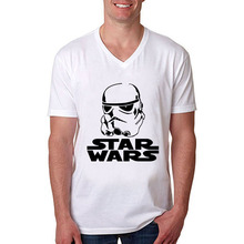 Free Shipping Cool Star Wars T shirts Darth Vader T Shirt 100 Cotton Customized Men Tee