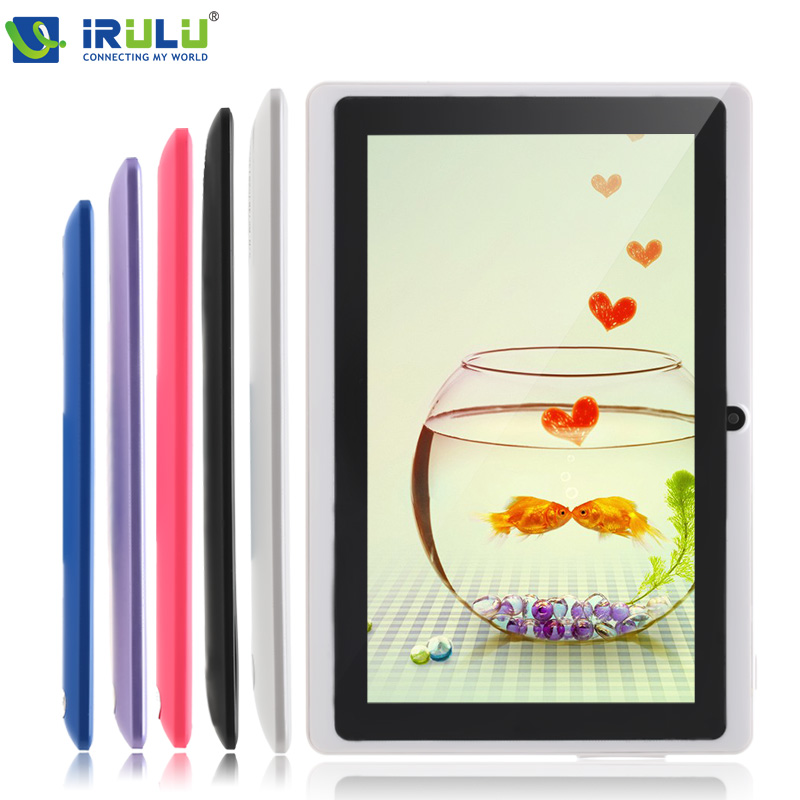 iRULU eXpro 7'' Tablet PC Android 4.4 16GB ROM Quad Core 1024*600 HD Dual Cameras 3G External WIFI Tablet w/Keyboard New Hot(China (Mainland))