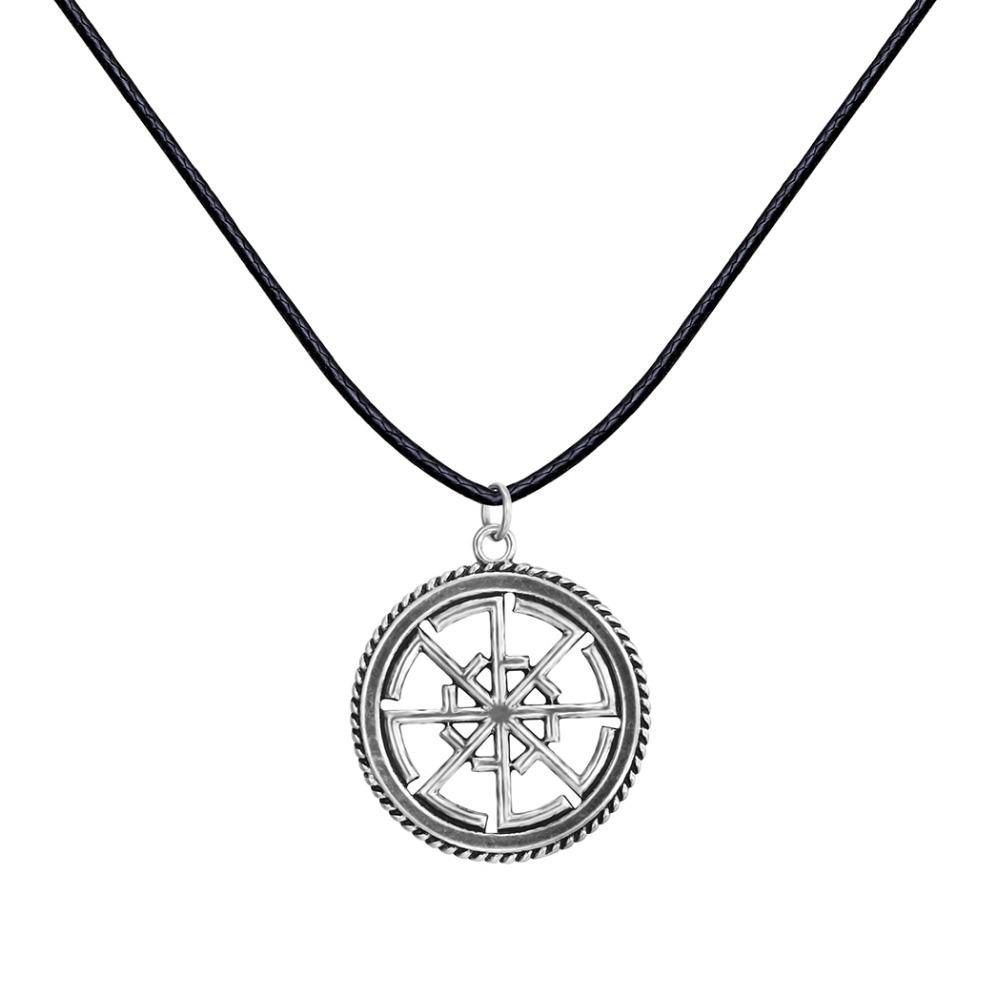 Unique Antique Silver Slavic Amulet Svitovit Viking Pagan Jewelry Slavic Talisman Pendant Necklace Christmas Gift for Men Women