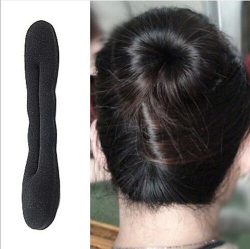 Hot Sale Women Headwear Sponge Hair Tools Elegant Magic Buns Hair Rope Hairband Hair Accessories Free Shipping lyОдежда и ак�е��уары<br><br><br>Aliexpress