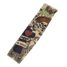 hot selling Skull Scorpion Stretchy Temporary Arm Sleeve Stocking for Child(China (Mainland))