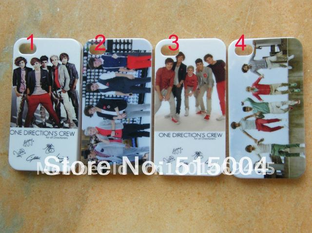New Design  One Direction ID Case  Hard Back Cover For iPhone 4 4s 4g  + Free Shipping